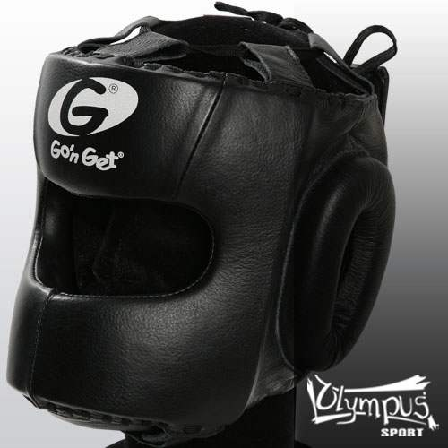 Head Guard Go n' Get - FULL FACE Leather