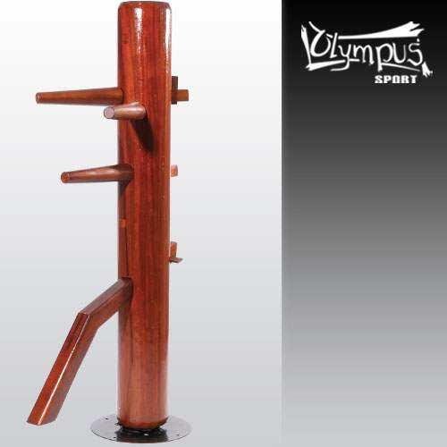 Wooden Dummy - Spinning Stand Free